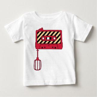 Camiseta Para Bebê Mixtape contra o misturador