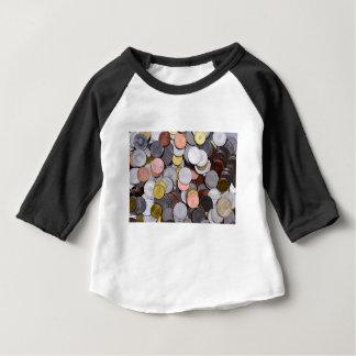 Camiseta Para Bebê moedas romenas