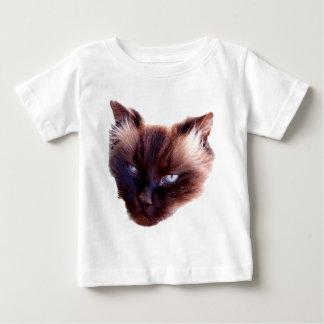 Camiseta Para Bebê Moggy médio