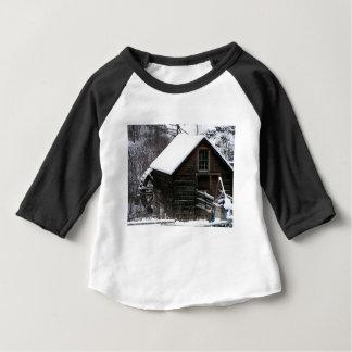 Camiseta Para Bebê Moinho da munição de Keremeos no inverno