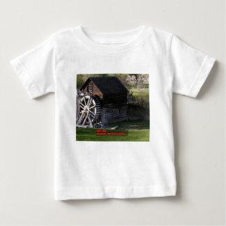 Camiseta Para Bebê Moinho da munição, Keremeos, BC, Canadá