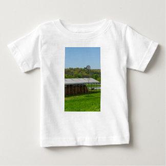 Camiseta Para Bebê Moinho de vento do país