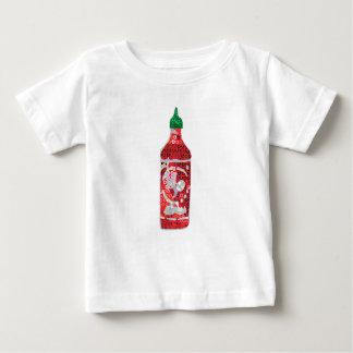Camiseta Para Bebê molho picante do sequin