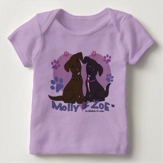 Camiseta Para Bebê Molly & Zoe