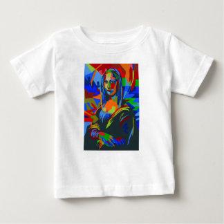 Camiseta Para Bebê Mona Lisa Wpap