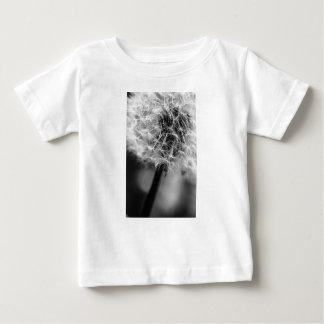 Camiseta Para Bebê Monochrome do dente-de-leão