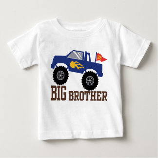 Camiseta Para Bebê Monster truck do big brother