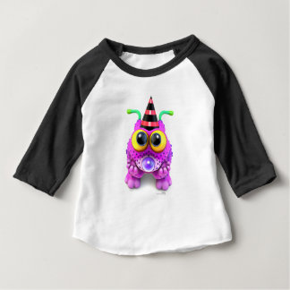 Camiseta Para Bebê Monsterlings - o Poof obteve Nones