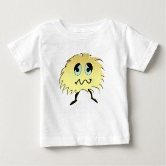 Camiseta Para Bebê monstro triste