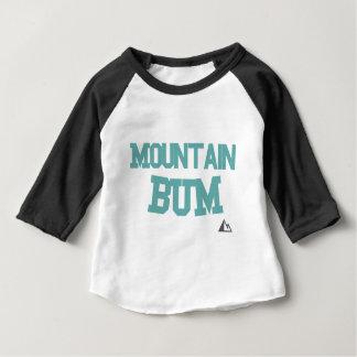 Camiseta Para Bebê Montanha-Cerceta