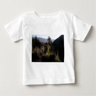 Camiseta Para Bebê Montanha Mullen
