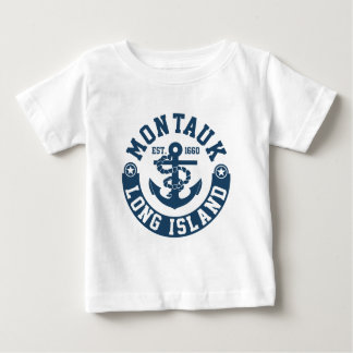 Camiseta Para Bebê Montauk Long Island