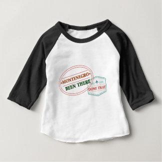 Camiseta Para Bebê Montenegro feito lá isso