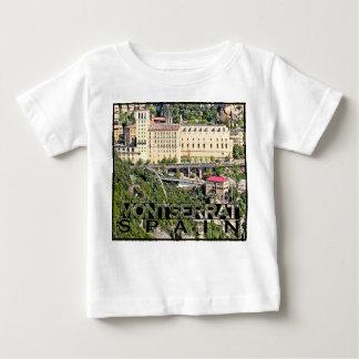 Camiseta Para Bebê Montserrat