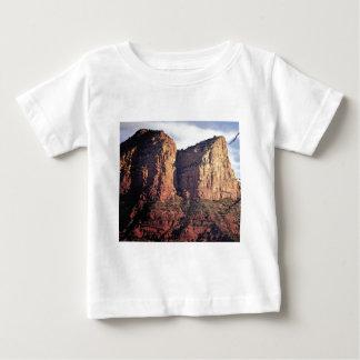 Camiseta Para Bebê monumento agradável da rocha