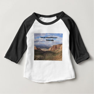 Camiseta Para Bebê Monumento nacional de Colorado, CO