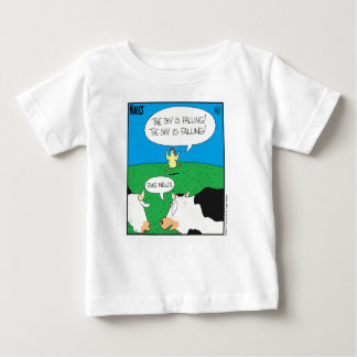 Camiseta Para Bebê Moos falsificado Zazzle