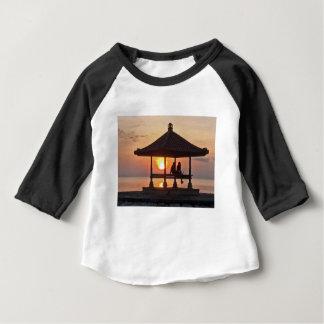 Camiseta Para Bebê Moring na ilha de Bali