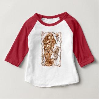 Camiseta Para Bebê Morsa