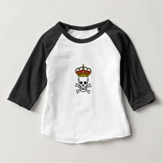 Camiseta Para Bebê morte coroada