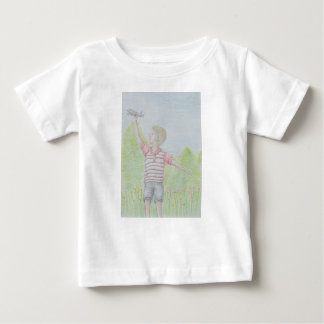 Camiseta Para Bebê mosca afastado
