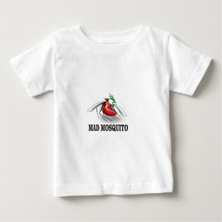 Camiseta Para Bebê mosquito louco yeah