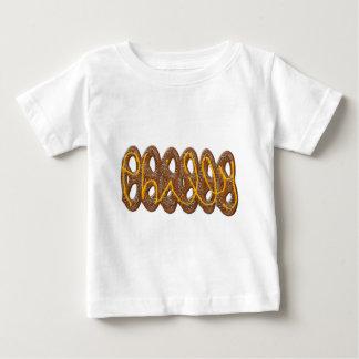 Camiseta Para Bebê Mostarda de w do pretzel macio de Philly
