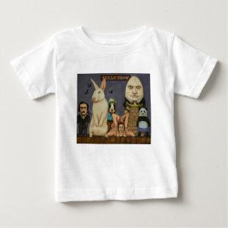 Camiseta Para Bebê Mostra arrepiante
