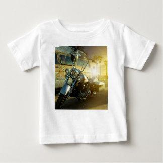 Camiseta Para Bebê motocicleta