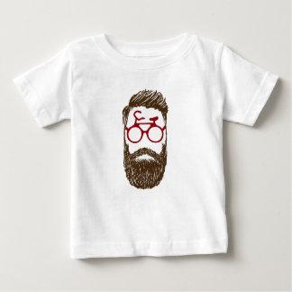 Camiseta Para Bebê Motociclista do hipster