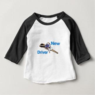 Camiseta Para Bebê Motorista novo