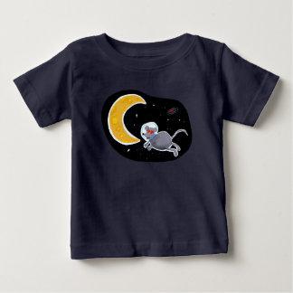 Camiseta para Bebê - Mouse In Space