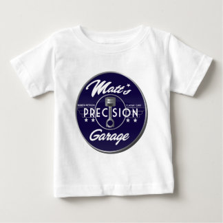 Camiseta Para Bebê MPG - Logotipo da cor completa