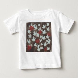Camiseta Para Bebê Mudança das estações