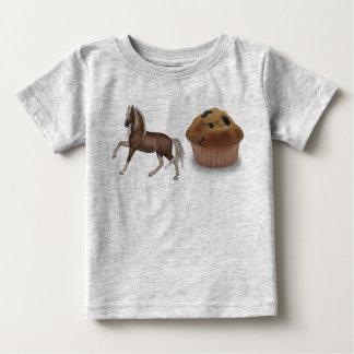 Camiseta Para Bebê Muffin do parafuso prisioneiro