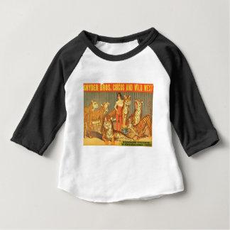 Camiseta Para Bebê Muitos Pet tigres