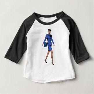 Camiseta Para Bebê Mulher de negócio