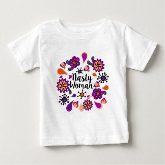 Camiseta Para Bebê Mulher desagradável