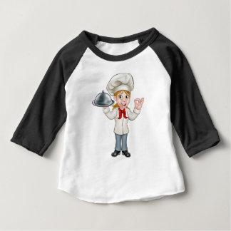 Camiseta Para Bebê Mulher do decorador do pintor com pincel