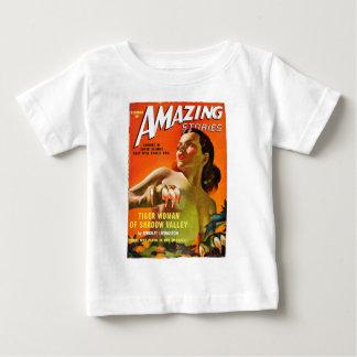 Camiseta Para Bebê Mulher do tigre