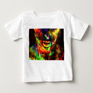 Camiseta Para Bebê Mulheres abstratas