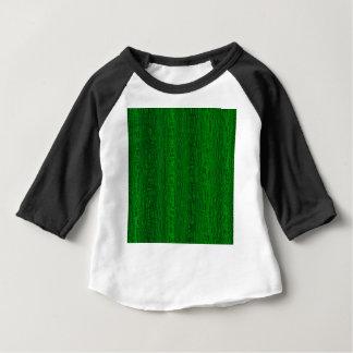 Camiseta Para Bebê Multi fundo da cor verde