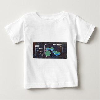 Camiseta Para Bebê Mundo do cilindro