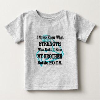 Camiseta Para Bebê Muscle/I nunca conheceu… o irmão