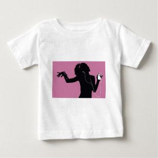 Camiseta Para Bebê música