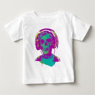 Camiseta Para Bebê Música do zombi
