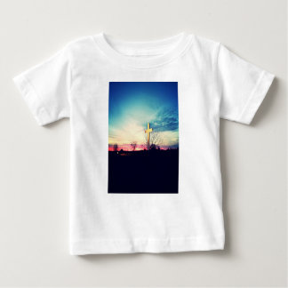 Camiseta Para Bebê Na cruz