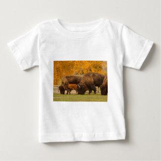 Camiseta Para Bebê Nação da família do bisonte