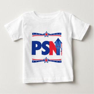 Camiseta Para Bebê Nação de Pansuit