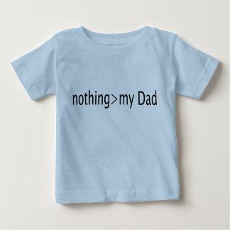 Camiseta Para Bebê Nada é maior do que meu pai